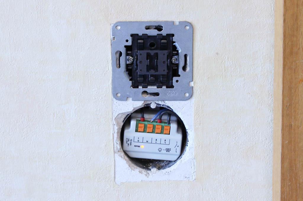 HomeMatic Unterputz Lichtschalter